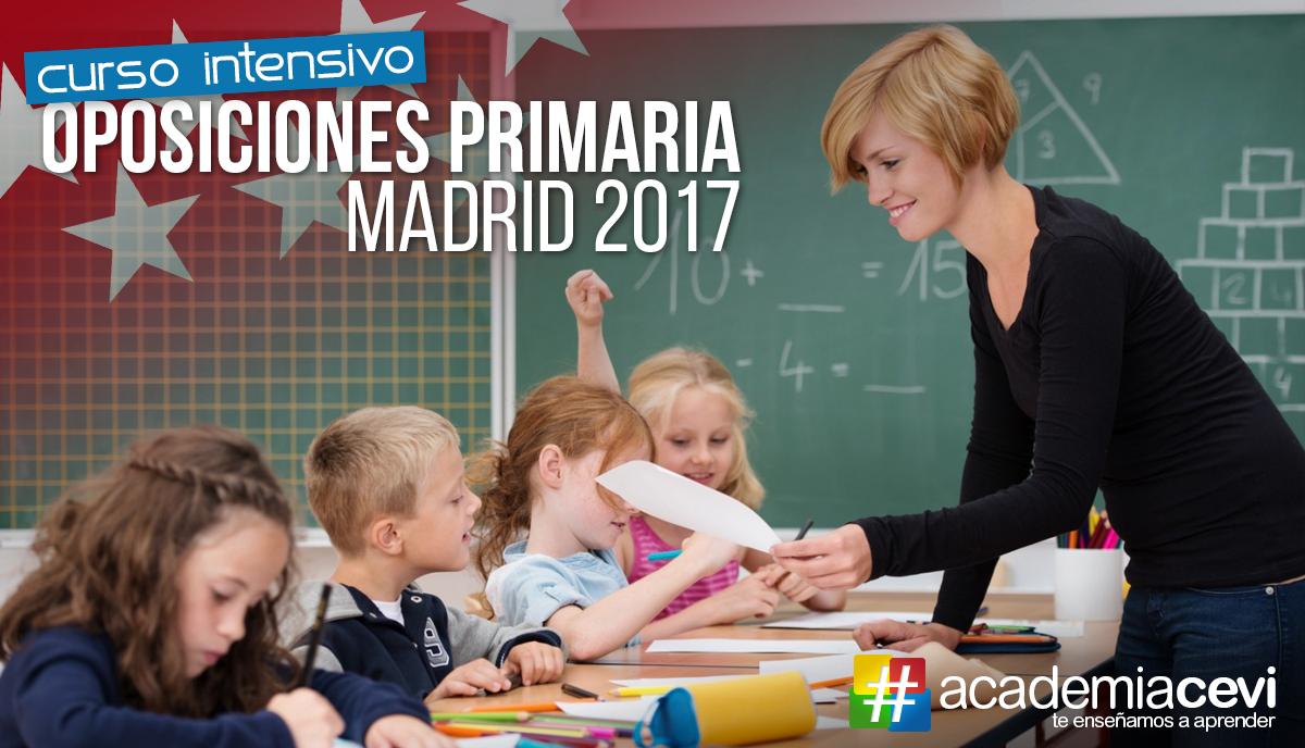 Oposiciones Magisterio 2017 en Madrid –  Te ayudamos a preparar tu especialidad