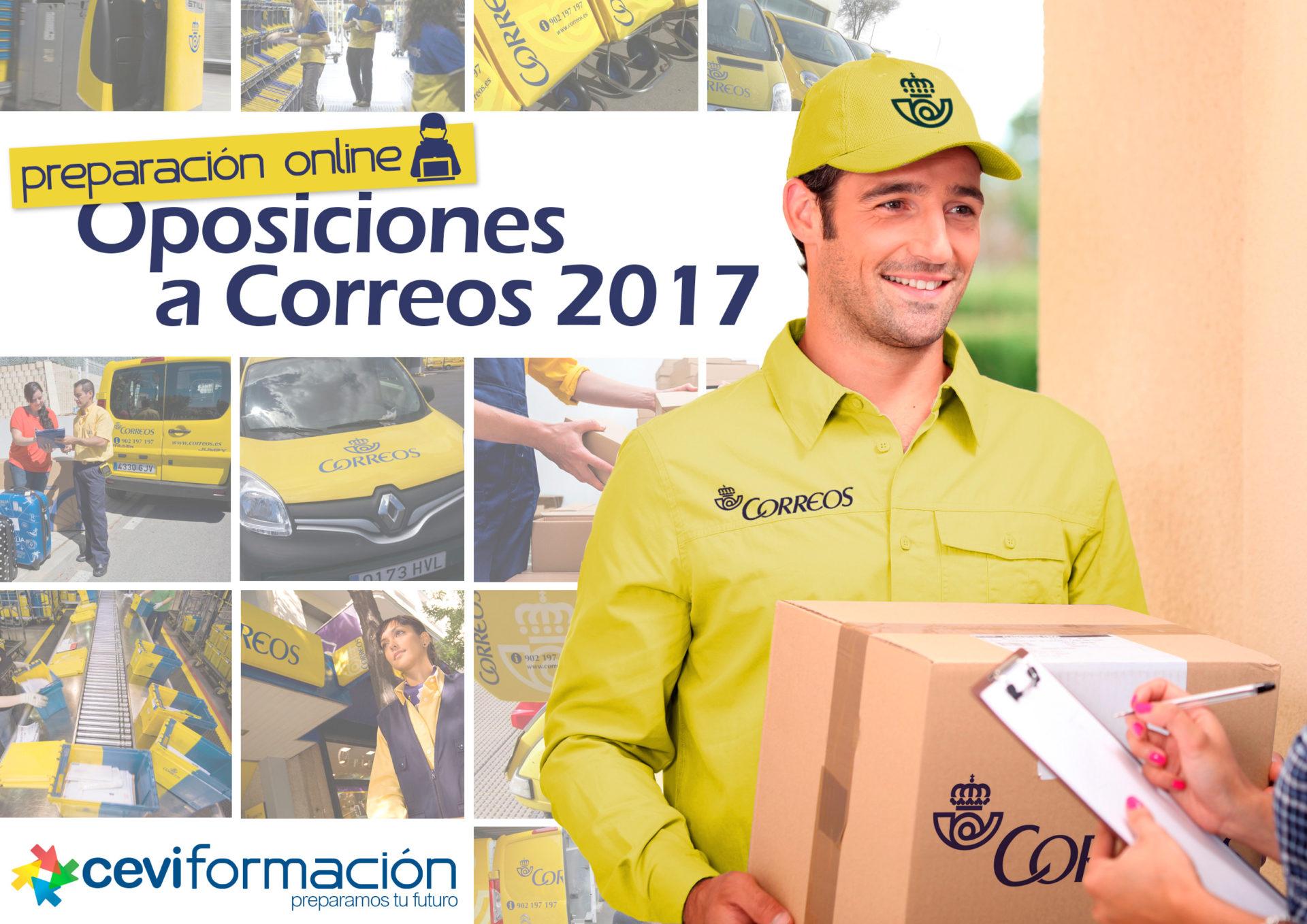 Comienzo de los nuevos Cursos de Preparación Online para las Oposiciones a Correos 2017