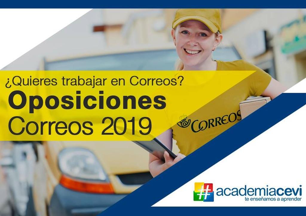 En Agosto comenzamos con nuestro curso intensivo de preparación para las oposiciones a Correos 2019, ¡no dejes pasar esta oportunidad!